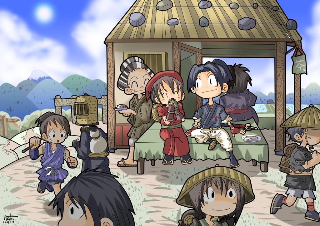 峠の茶屋にて2009年7月11日はたはた鍋日記so Netブログ